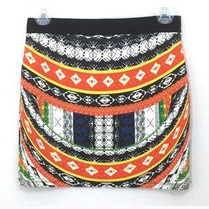Zara Trafaluc bodycon mini skirt size medium